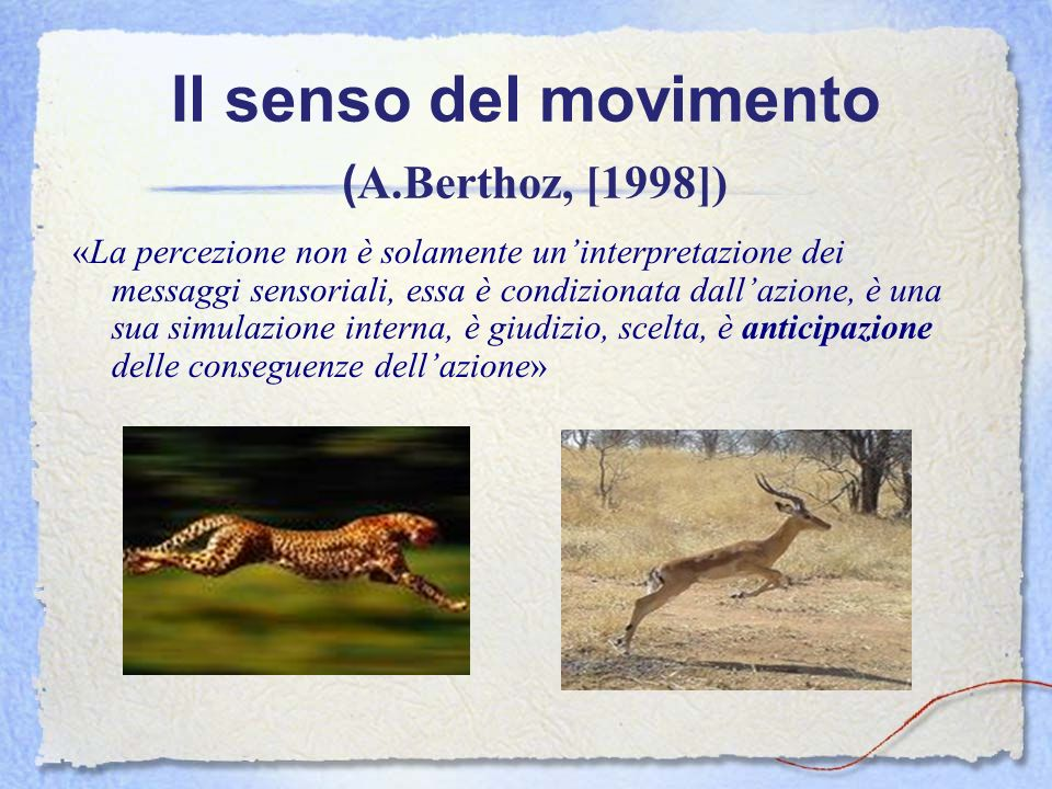 Il senso del movimento (A.Berthoz, [1998])